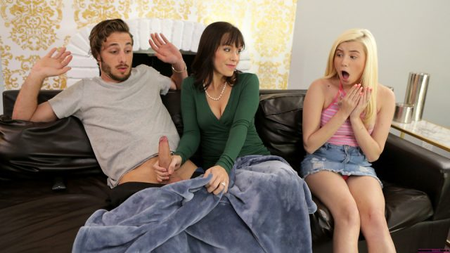 MomsTeachSex free porn Distracted By Dick with Alana Cruise and Carolina Sweets